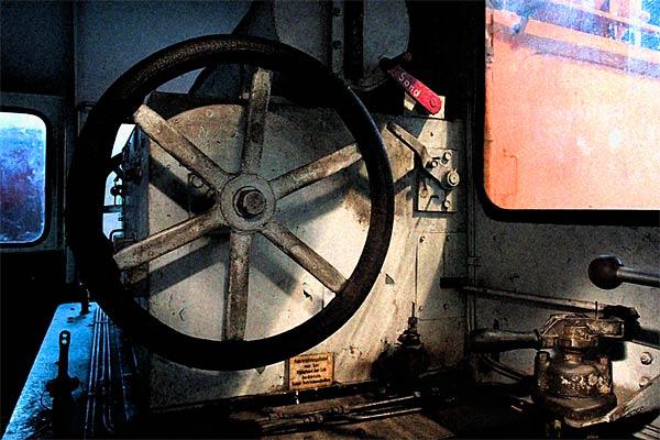 Führerstand einer Rangierlok | Canon 10D, EF 17-40 4.0, 17mm, f 6.5, 3s, ISO 200