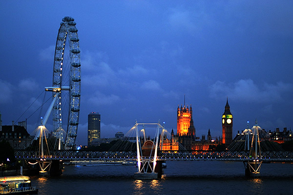 London Eye | Canon 10D, EF 50 1.4, f 1.4, 1/45s, ISO 400