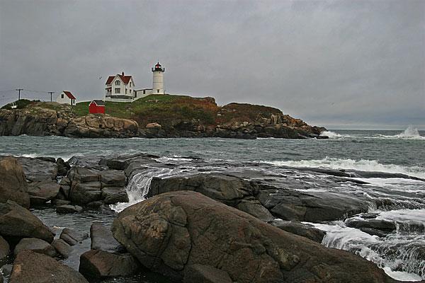 Nubble Lighthouse - Cape Neddick