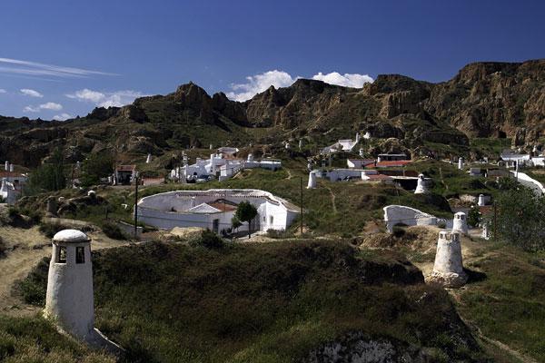 Höhlenwohnungen von Guadix | Canon 10D, EF 17-40 4.0, 27mm, f 8.0, 1/90s, ISO 100